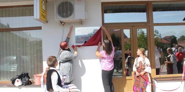 Otvoritev obnovljenega zdravstvenega doma v Vidovicah