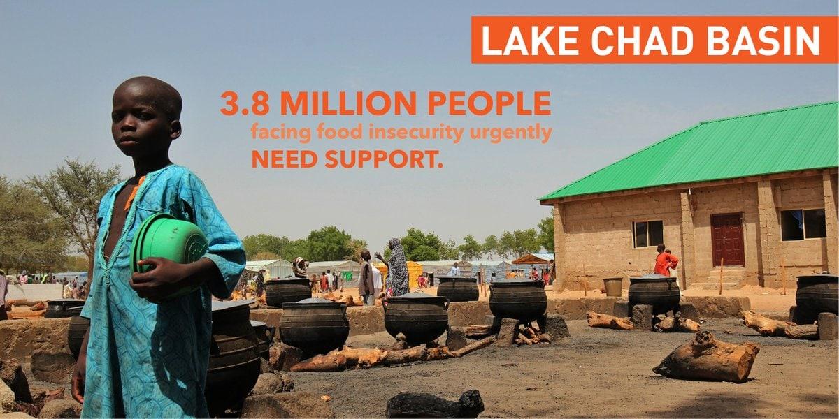 Podhranjenosti in skorajšnja lakota v Nigeriji