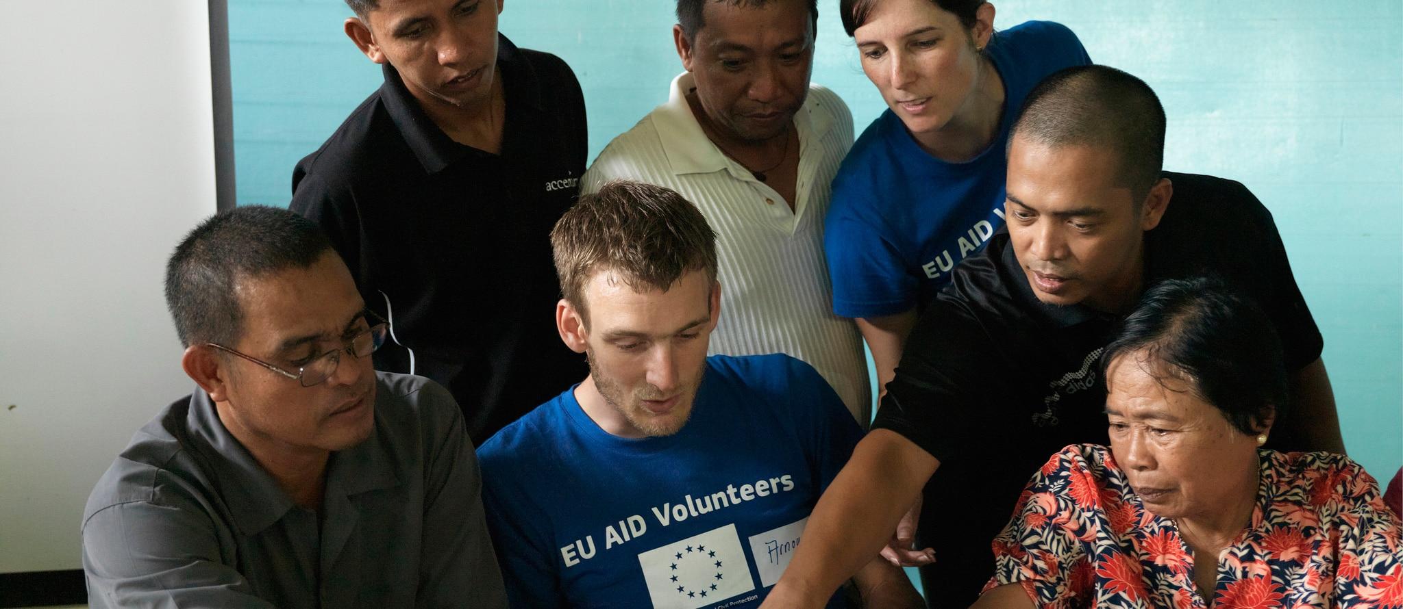 Predstavitev in usposabljanje o EU humanitarnem prostovoljstvu