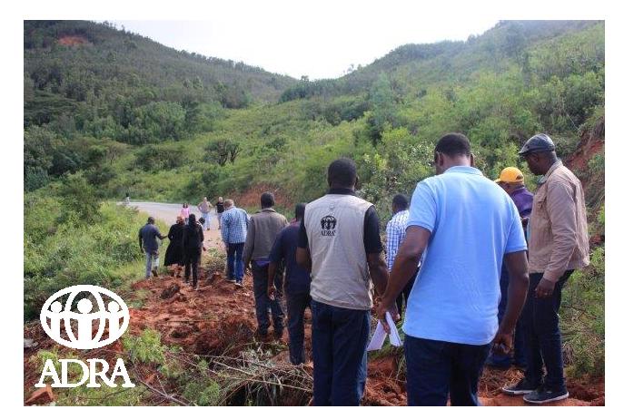 ADRA Slovenija pomaga prizadetim v ciklonu Idai v Zimbabveju
