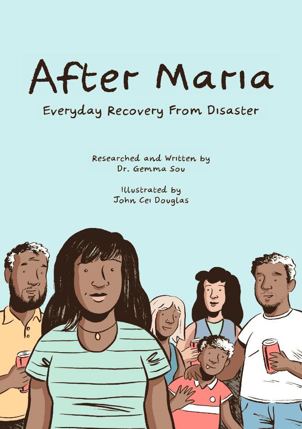 »After Maria«: grafična novela o okrevanju po katastrofi