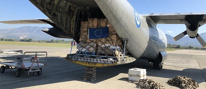 Slovenija ob potresu na pomoč Albaniji