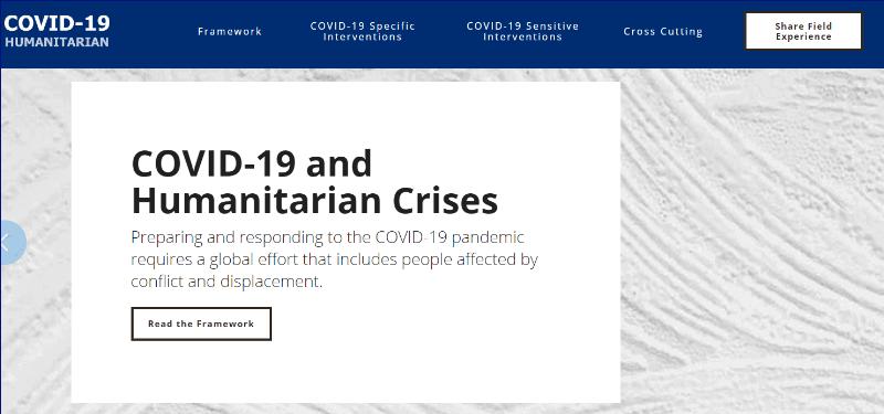 COVID-19 Humanitarian: nova platforma, ki združuje najboljše in nove prakse