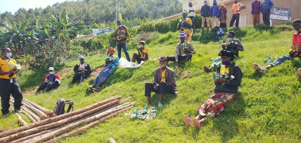 Slovenska karitas že tretje leto izvaja projekt v Ruandi