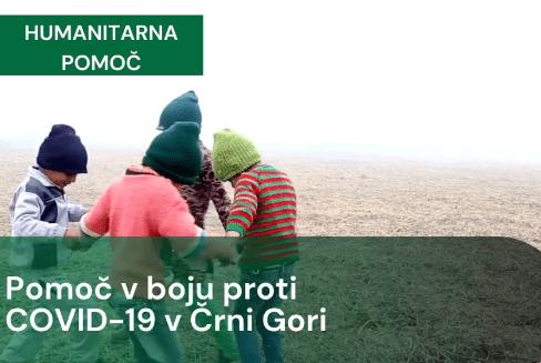 Pomoč v boju proti Covid-19 v Črni gori