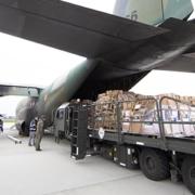 V Indijo je že prispela prva pomoč iz EU. Vir: Romunsko zunanje ministrstvo