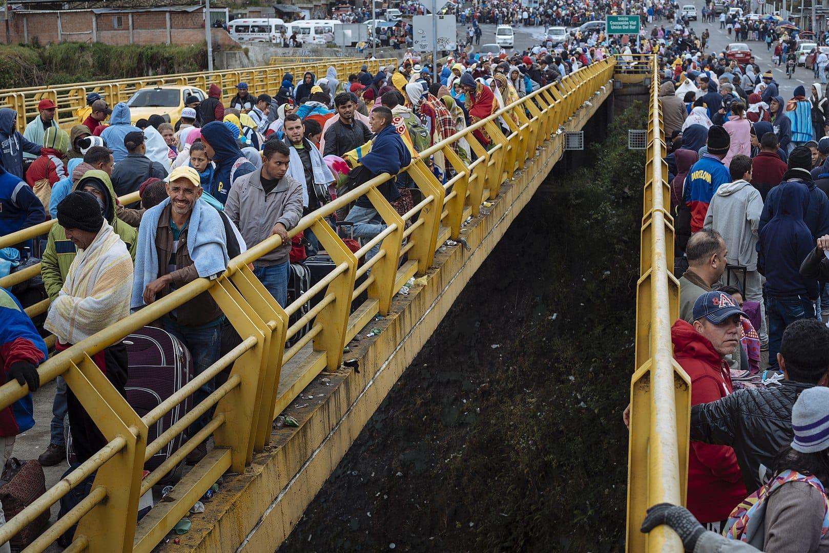 Za venezuelske migrante in begunce 60.000 evrov