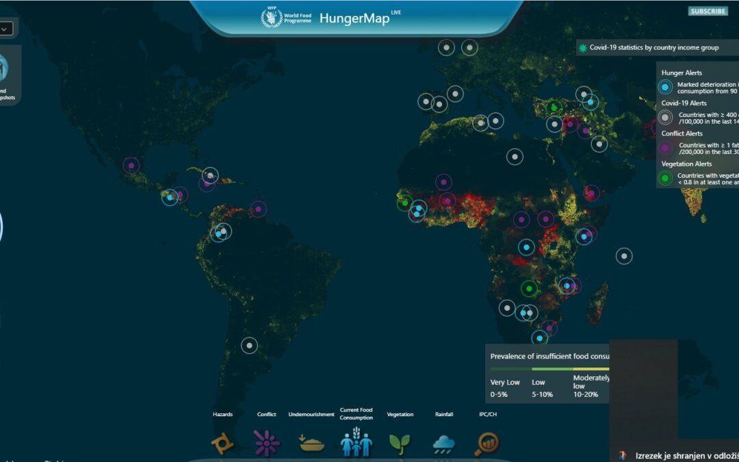 Pandemija Brazilijo vrača na Svetovni zemljevid lakote