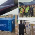 EU je poslala Mozambiku 15 ton pomoči. Vir: Twitter