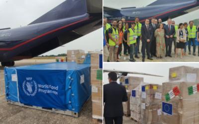 Humanitarni zračni most EU za dostavo pomoči Mozambiku
