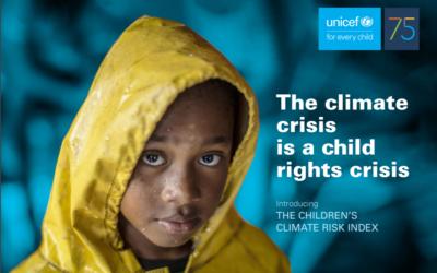 Milijardo otrok močno ogrožajo učinki podnebne krize