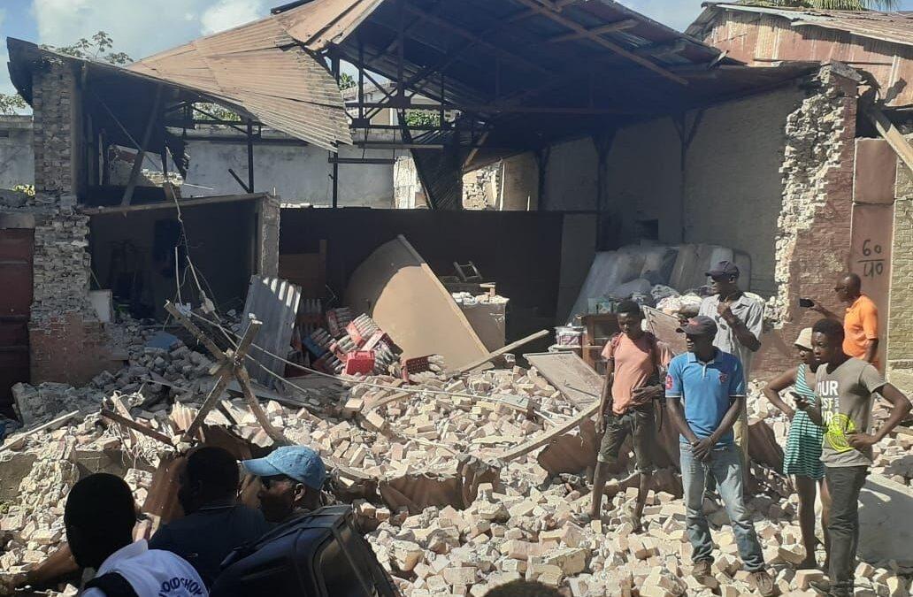 Razmere na Haitiju, ki si še ni opomogel od potresa pred 10 leti, zelo slabe. Foto: Wikipedia