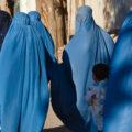 Ženske v burkah, Herat, Afgansitan. Vir: Wikimedia Commons