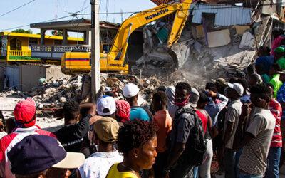 Humanitarna pomoč EU Haitiju po potresu