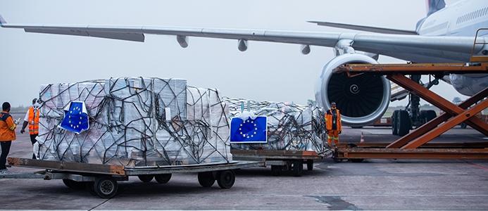 125 ton humanitarne pomoči za Haiti