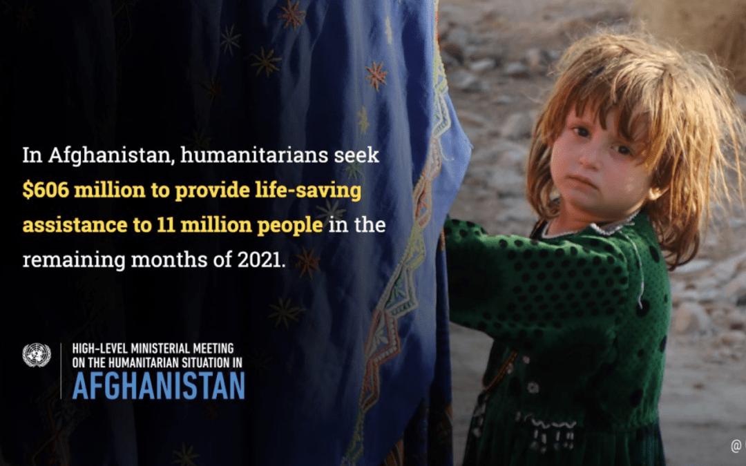 Donatorska konferenca za Afganistan. Vir: Twitter