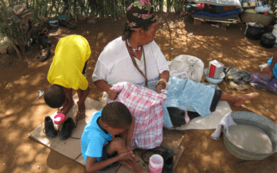 Dobrodelna akcija za pomoč revnim otrokom v Bocvani